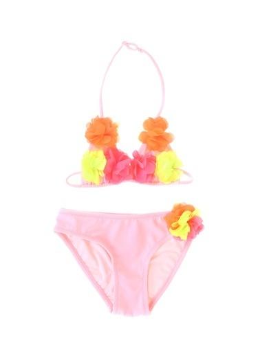 Limon Company Limon Çok Renkli Kız Çocuk Bikini Takım Renkli